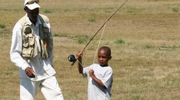 fishing, flyfishing, fly fishing, boy, learning how to