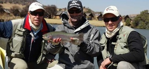 Corporate Fly fishing Team build at Kloofzicht