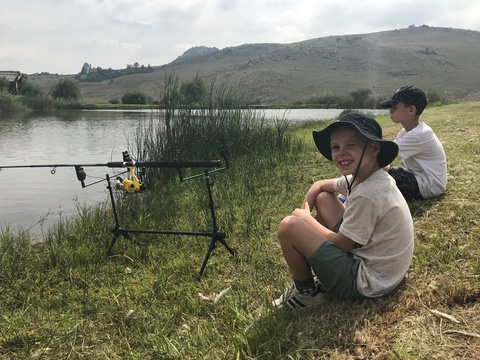 Let's go fishing in the Cradle of Humankind