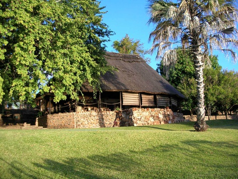The luxury accommodation at the Zambezi Lodge