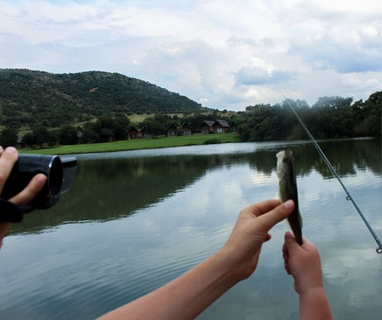Fly fishing is a hands-on experience