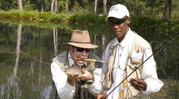 Wayne Sinclair, Sundowner Flyfishing Adventures, Founder